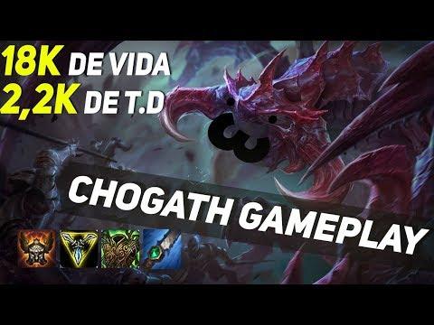 CHO GATH 18 MIL DE VIDA E 2200 DE TRUE DAMAGE