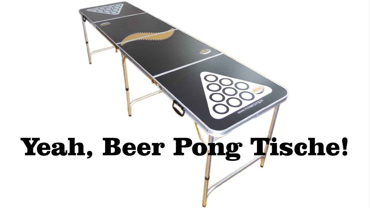 beer pong tisch das ultimative highlight auf jeder party youtube. Black Bedroom Furniture Sets. Home Design Ideas
