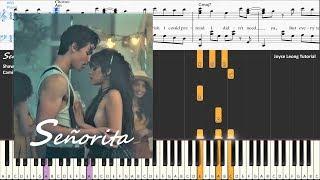 Shawn Mendes Camila Cabello Seorita - Piano Cover Sheets.mp3