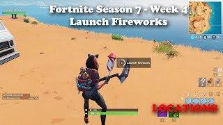 Season Fireworks Fortnite Week 4 Challen All About Celebrities