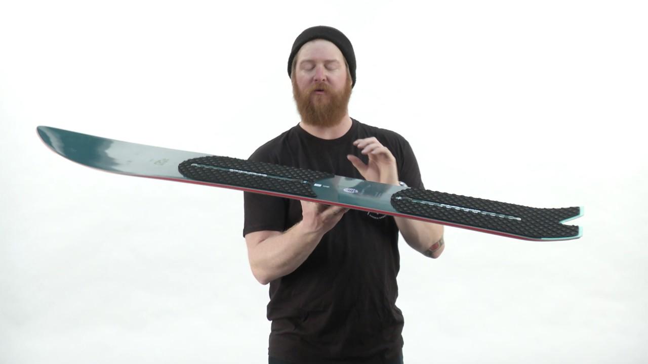 serie aumento Escuchando  2017 Burton Skipjack Surf Snowboard - Review - The-House.com - YouTube