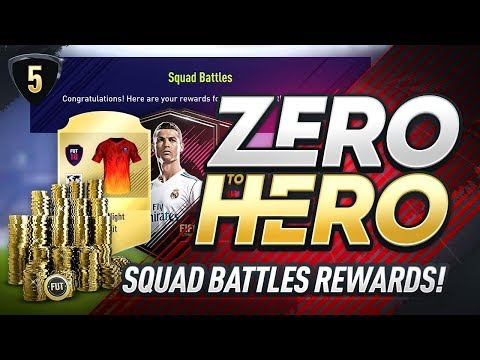 SQUAD BATTLES REWARDS! FIFA 18 ZERO TO HERO