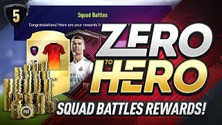 squad battles rewards fifa 18 zero to hero