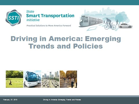 Driving in America: Emerging Trends and Policies