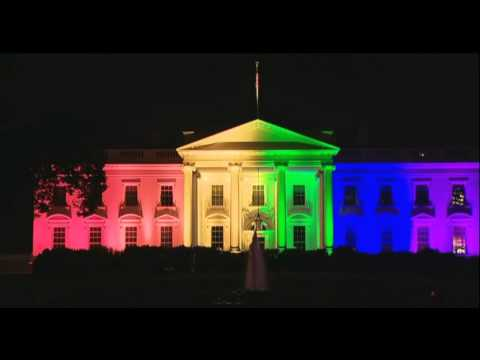 The White House Lit Up With Pride Colors After Marriage Equality Decision
