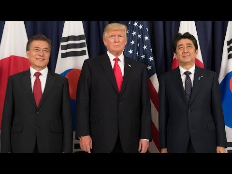 Trump Confronts North Korea With Japanese PM's Help