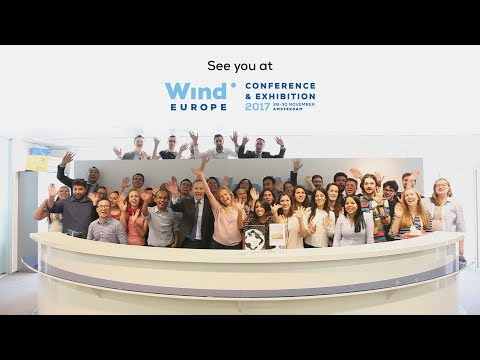 Offshore Wind Energy 2017 post-event video: See you in Amsterdam!