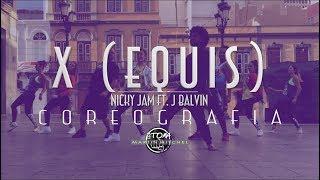 X (Equis) Nicky Jam Ft. J Balvin [ Martin Mitchel] Choreo | Zumba