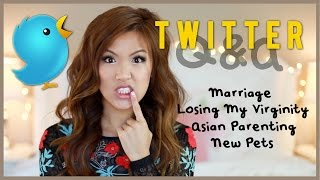 Twitter Q&A: Losing Virginity, Marriage, Asian Parenting, New Pets?! | ilikeweylie