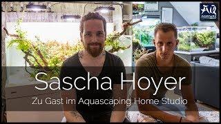 ZU BESUCH BEI SASCHA HOYER | Eindrücke aus dem Aquascaping Home Studio | AquaOwner
