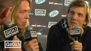 Kevin and Ryan Manno with Apocalyptica at Block Party 2008!