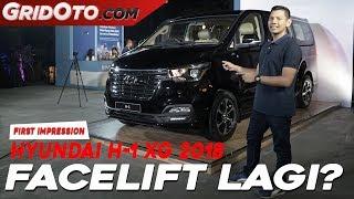 Hyundai H 1 XG 2018 I First Impression I GridOto смотреть