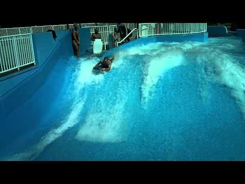 MT Barrel Roll on the Flowrider in Great Falls Montana
