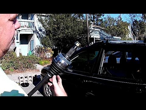 2007 KIA Sportage CV Axle Replacement