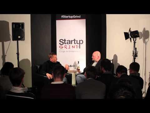 Arndt Kwiatkowski (Founder Immobilienscout24) at Startup Grind Berlin
