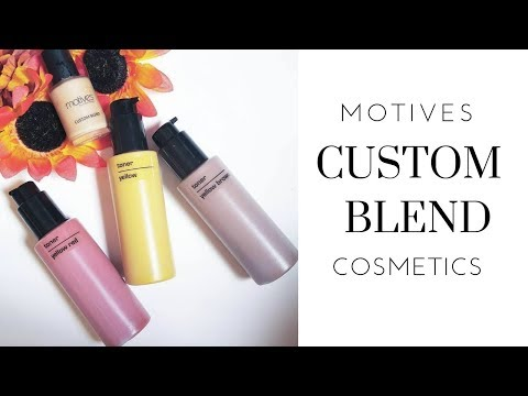 Motives Custom Blend Cosmetics