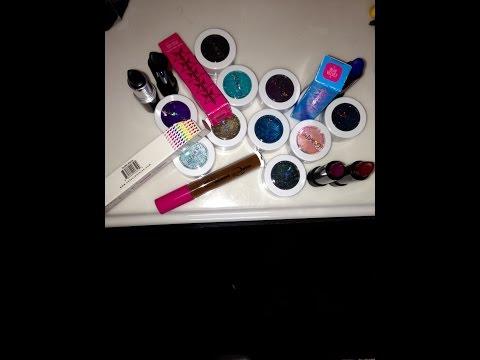 First Makeup Haul!  Colourpop, Melt Cosmetics, Jeffree Star, & Coloured Raine!!