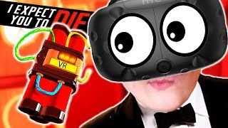 СИМУЛЯТОР СУПЕР АГЕНТА! СПАС ВЕСЬ МИР В VR (HTC Vive) I Expect You To Die