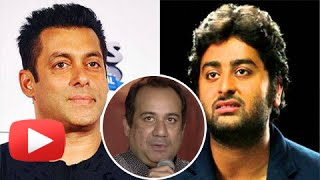 Rahat Fateh Ali Khan REACTS On Salman Khan Arijit Singh Fight | Jag Ghoomeya