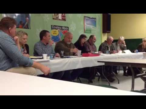 Bledsoe County Board of Education Meeting January 16, 2014
