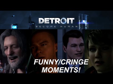 I SHOULD NOT PLAY VIDEO GAMES!!!!! | DETROIT: BECOME HUMAN - HIGHLIGHTS! |