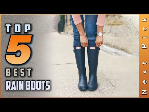 Top 5 Best Rain Boots Review In 2020