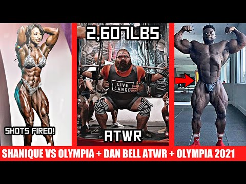 Dan Bell ATWR Total! + New Olympia Dates + Shanique Grant Calls Out Olympia + Blessing + Juji + MORE