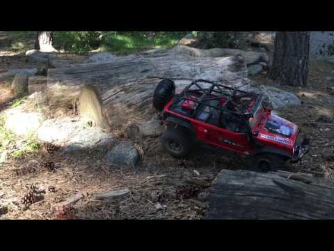 Rock crawler expedition. Llac d'Engolasters (Andorra), axial scx10, jeep wrangler rubicon unlimited