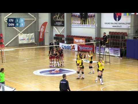 "Tinklinis: Lietuva - Danija (""Lithuania open"") 2015-05-24"