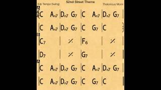 52nd Street Theme - Backing Track / Play-along