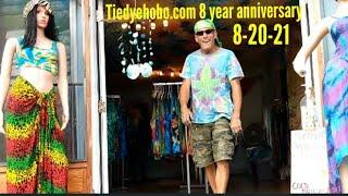 8 YEAR Anniversary Tiedyehobo tour Aug. 20, 2021