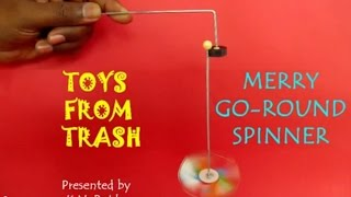 Merry Go Round Spinner | Telugu | Fun with Magnets