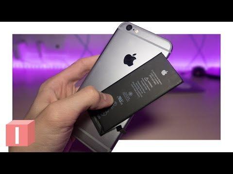 Что с моим IPhone после замены батареи?
