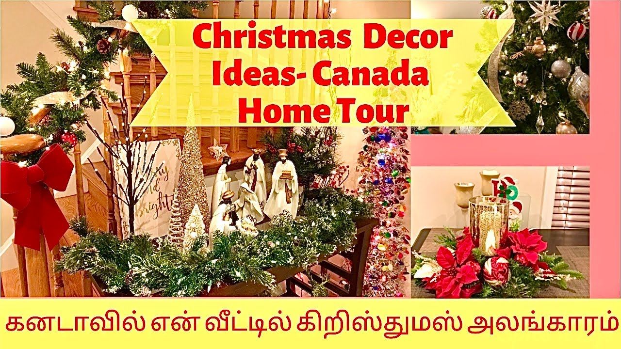 Christmas Decorations in Canada, Toronto | Tamil vlog