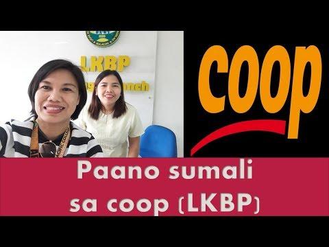 Paano sumali sa coop (LKBP)