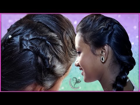 Beautiful Twisted Braid Hairstyle for girls thumbnail