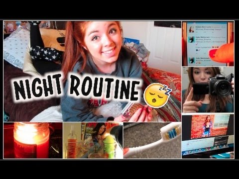 Night Routine for School! ft. Need You Right Now ...