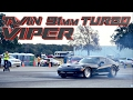 2500+whp Turbo VIPER! INSANE 227mph RWD Record!
