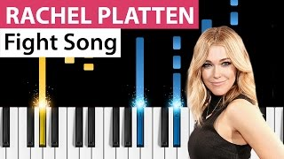 Video Rachel Platten - Fight Song - Piano Tutorial - How to play Fight Song on piano download MP3, 3GP, MP4, WEBM, AVI, FLV Juni 2018