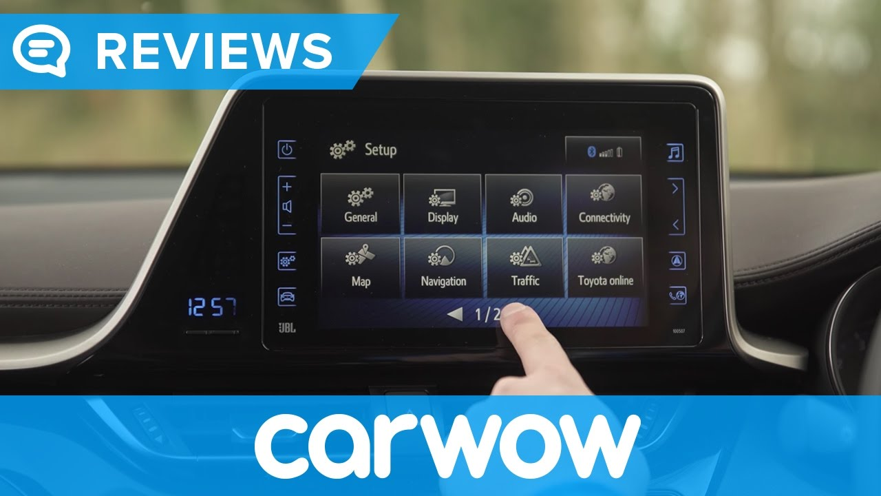 toyota c hr suv 2017 touch 2 with go navigation and. Black Bedroom Furniture Sets. Home Design Ideas