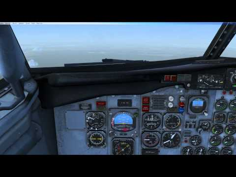 FSX Military Visualizations Boeing 737-200C [Complete Flight] PANC - PAOM