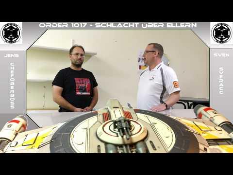 Star Wars x-wing Turnier 2. Schlacht über Ellern - Impressionen Interview und Siegerehrung