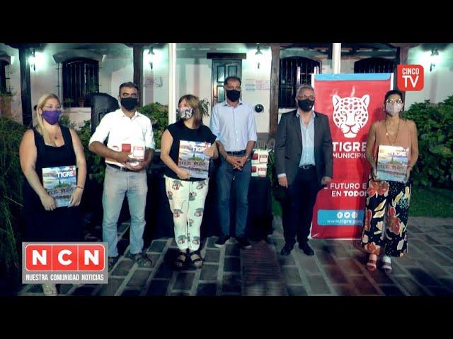 CINCO TV - Comienza en Tigre un curso de Promotores Comunitarios de Salud