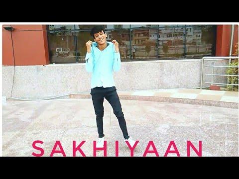 Sakhiyaan | Dance Cover | @Sachin Chourasia | Maninder Buttar