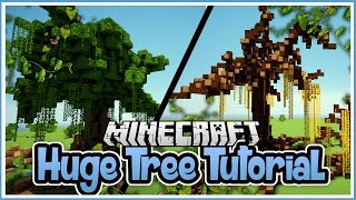 How to Build Huge Trees in Minecraft!