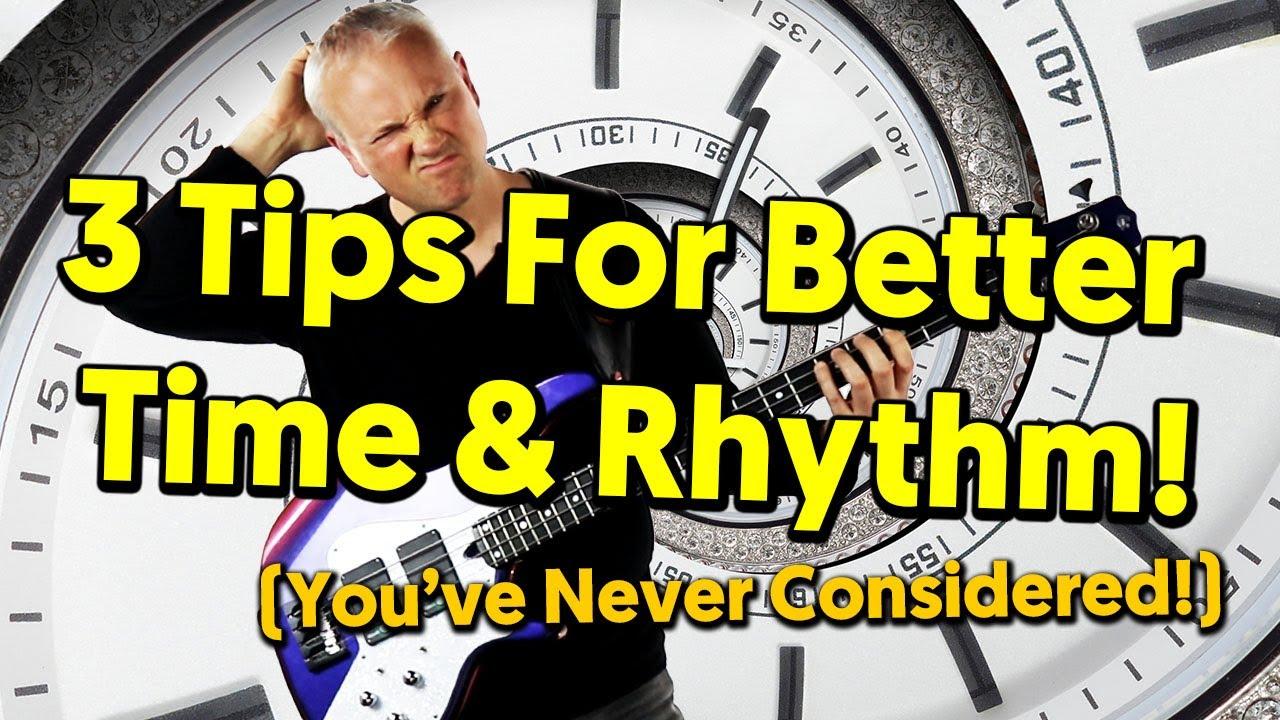 3 Beginner Bass Tips For Better Time & Rhythm