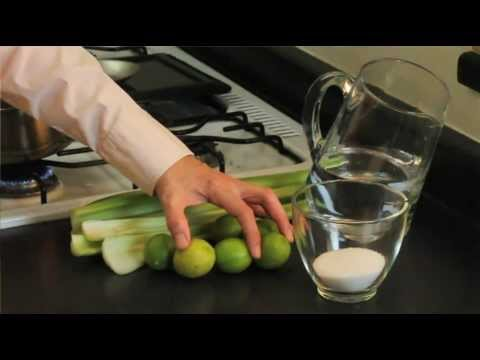 Receta de apio con limon para adelgazar