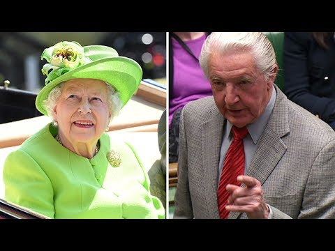 'You better get your skates on, the first race is half past two', Dennis Skinner heckles the Queen