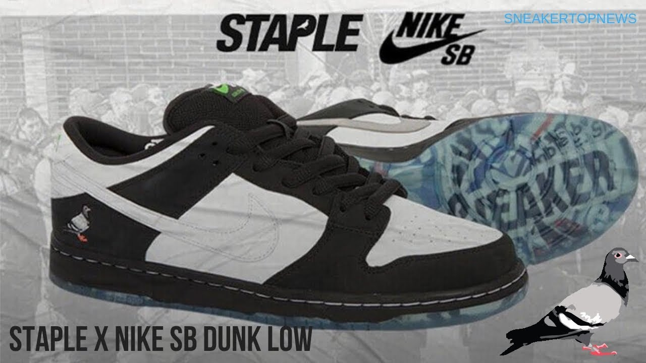 "05f3cf29e705 Nike SB Dunk Low ""Panda Pigeon"" Releasing On January 6th"