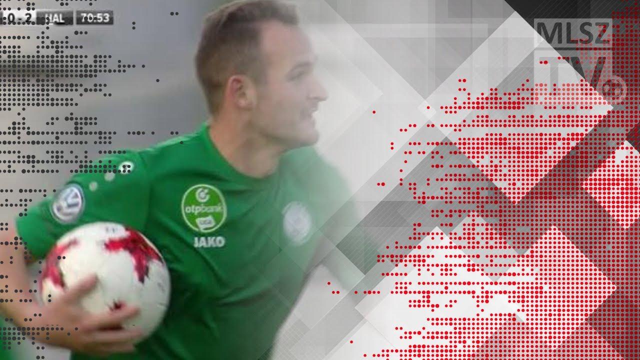 Simon András gólja  a Paksi FC - Swietelsky Haladás mérkőzésen